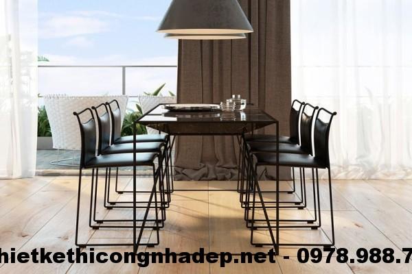 Bàn ghế ăn chung cư