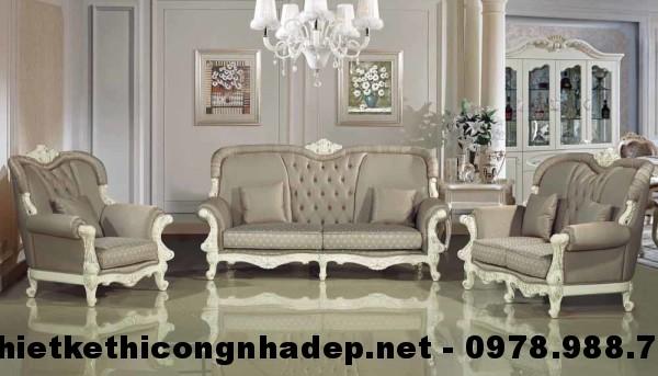 Ghế sofa cổ điển SCD24