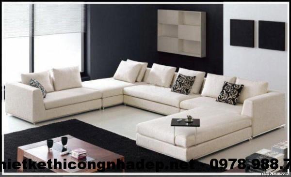 Ghế sofa nỉ đẹp SN5