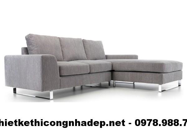 Ghế sofa nỉ đẹp SN7
