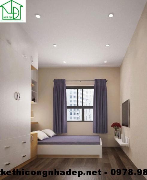 Giường ngủ chung cư HH3C