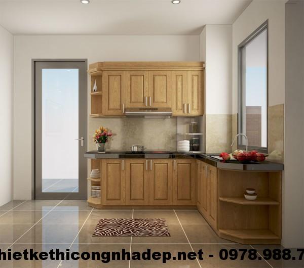 Phòng bếp chung cư CT12A