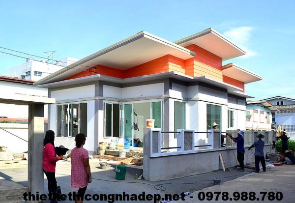 Nhà cấp 4 mái bằng NDNC46