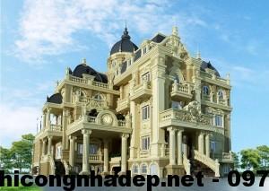 Biệt thự cổ điển Pháp, kiến trúc cổ điển Pháp NDBTCDP1