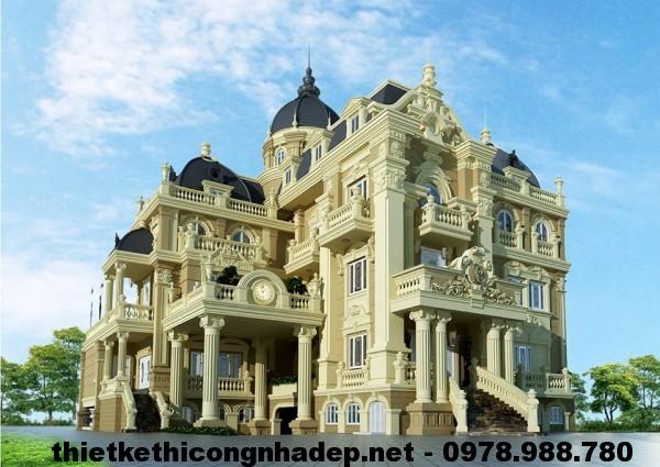 Biệt thự cổ điển Pháp NDBTCDP1