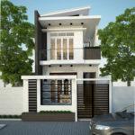 Mẫu nhà 2 tầng đẹp, thiết kế nhà 2 tầng đẹp NDMN2T1