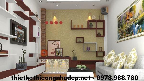 Nội thất phòng khách hiện đại NDNTPK1