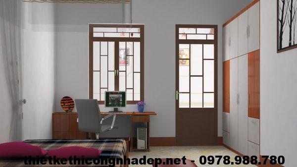 Thiết kế nội thất phòng ngủ 1 NDNC410