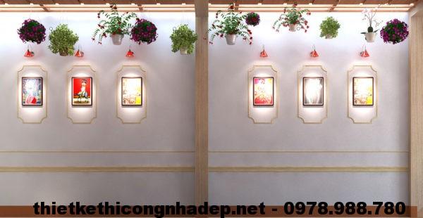 Trang trí tường bên NDNC410