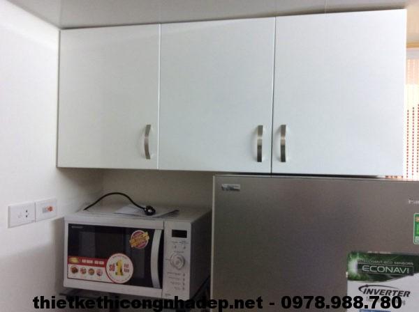 Tủ trên máy giặt và tủ lạnh NDNC411