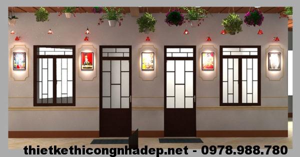 Tường phòng ngủ NDNC410