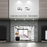 Shop túi xách nữ, thiết kế shop bán túi xách NDTKS4
