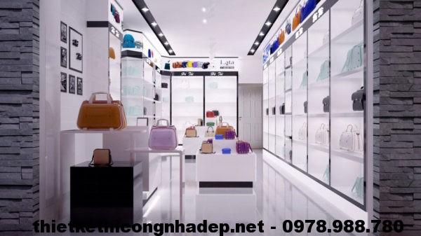 Thiết kế shop bán túi xách NDTKS4