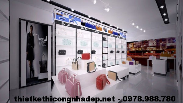 Thiết kế thi công shop NDTKS4