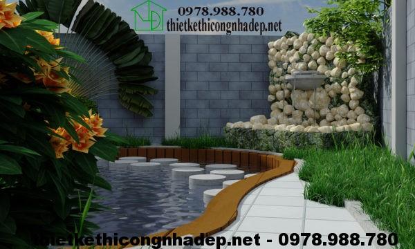 Mẫu nhà 2 tầng đơn giản NDBT2T11