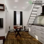 Thiết kế chung cư mini, thiết kế nội thất chung cư NDNTCC2