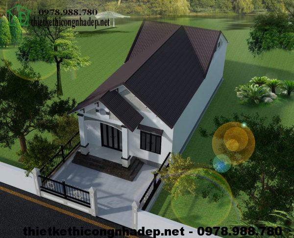 Nhà cấp 4 nông thôn NDNC422