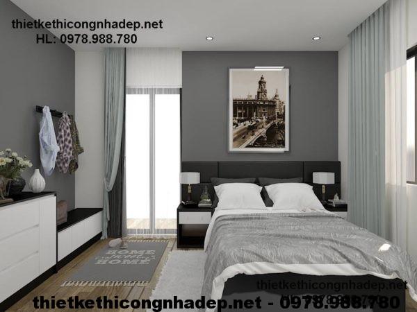 Nội thất phòng ngủ chung cư NDNTCC3