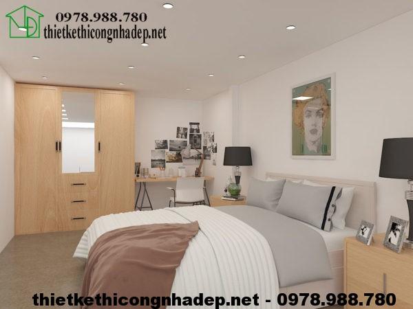 Nội thất phòng ngủ gác lửng NDNC422