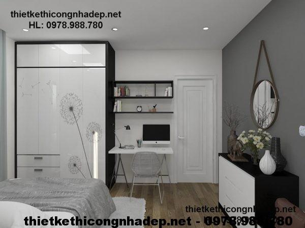 Thi công nội thất chung cư NDNTCC3