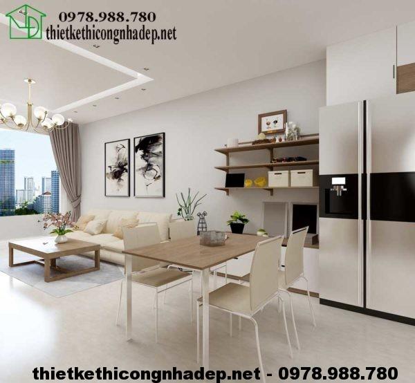 Mẫu thiết kế căn hộ 70m2 NDNTCC4