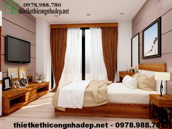Phòng ngủ chung cư 70m2 NDNTCC4