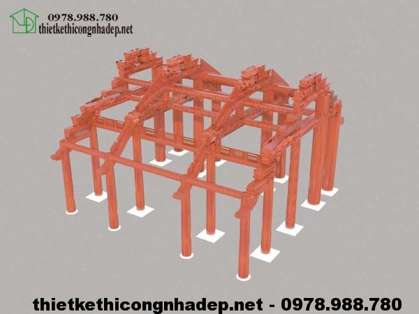 3D nhà thờ họ NDNTH5