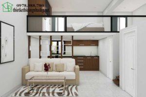 Cải tạo chung cư mini, mẫu chung cư nhỏ đẹp 30m2 NDNTCC5