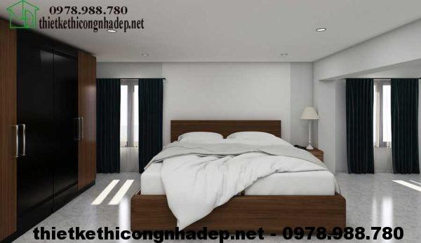Phòng ngủ gác lửng NDNTCC5