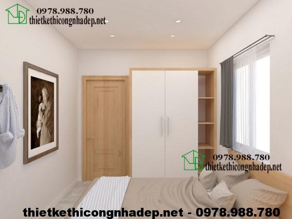 Phòng ngủ chung cư mini NDNTCC6