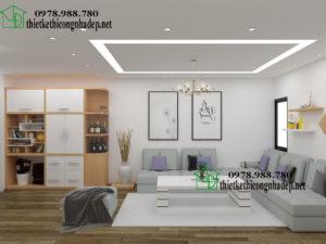 Thi công chung cư, thi công nội thất chung cư NDNTCC6