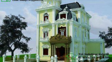 Biệt thự cổ điển đẹp, biệt thự cổ điển Châu Âu NDBTCDP3