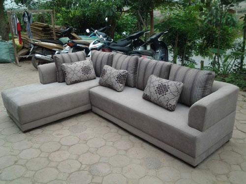 Sofa góc kiểu dáng đơn giản