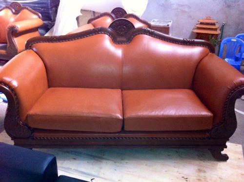 Ghế đôi sofa cổ điển trạm trổ cầu kỳ