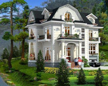 Phối cảnh thiết kế biệt thự đẹp
