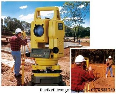 trắc địa đất khảo sát công trình