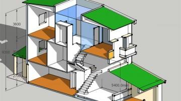 Tổng hợp mẫu thiết kế nhà phố 3 tầng đẹp hiện đại