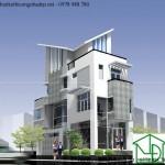 Mẫu thiết kế kiến trúc nhà ở đẹp