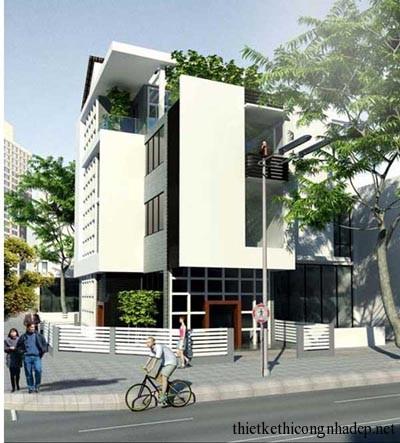 mẫu thiết kế biệt thự nhà phố số 4