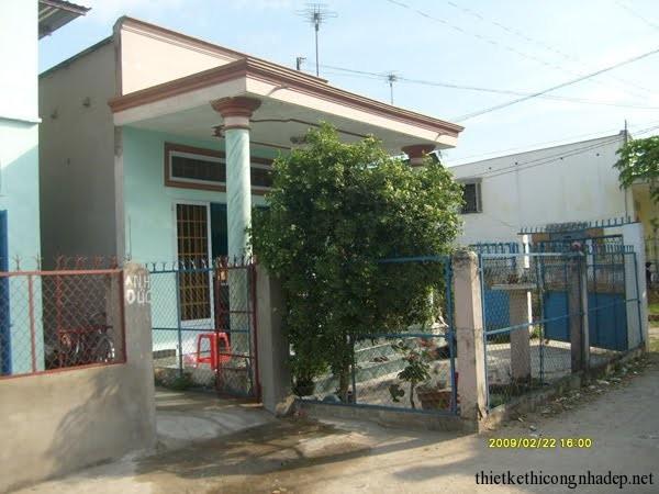 Nhận thầu xây nhà ở gia đình giá rẻ