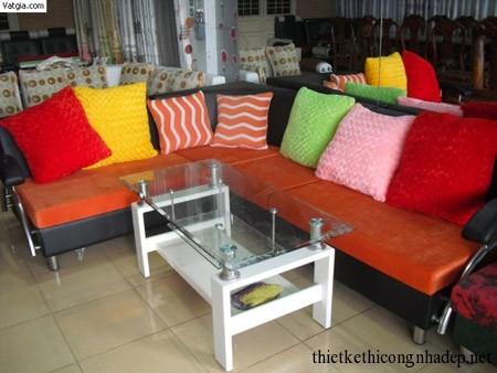 Mẫu bàn ghế sofa đẹp giá rẻ 10