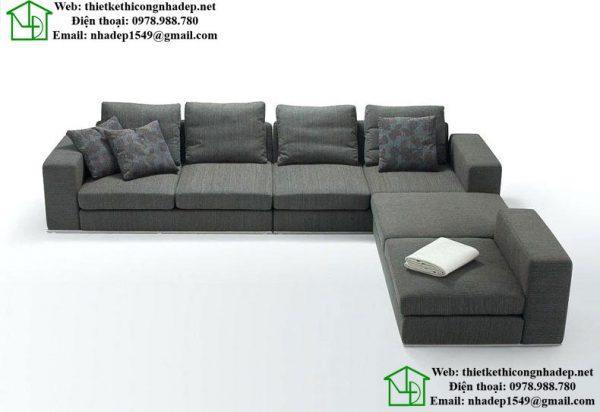 Sofa góc, sofa nỉ đẹp