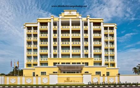 mẫu kiến trúc khách sạn tham khảo số 3