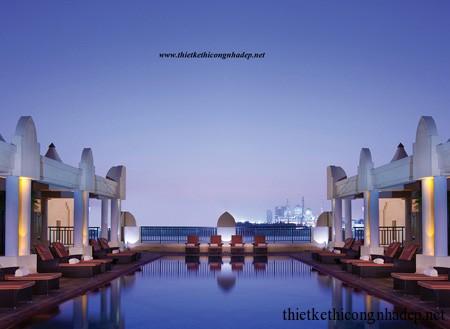 mẫu kiến trúc khách sạn tham khảo số 9