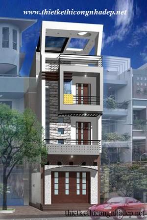 mẫu thiết kế nhà phố số 11