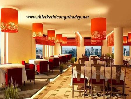 mẫu nội thất nhà hàng số 4