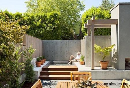 ý tưởng thiết kế sân vườn số 1
