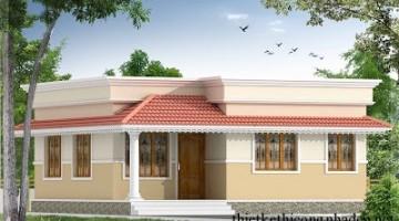Mẫu thiết kế nhà xinh đẹp diện tích nhỏ