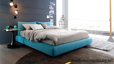 giường ngủ trên tầng lửng