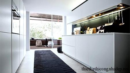 Hành lang đi vào của phòng bếp